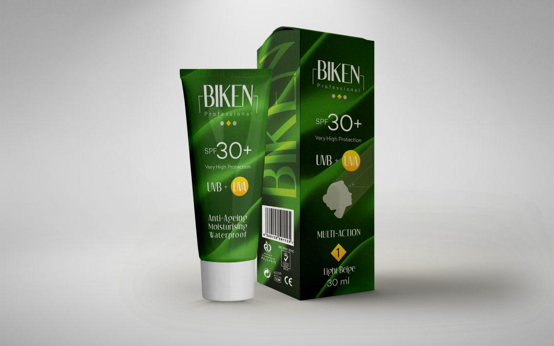 طراحی بسته بندی کرم ضد آفتاب بیکن